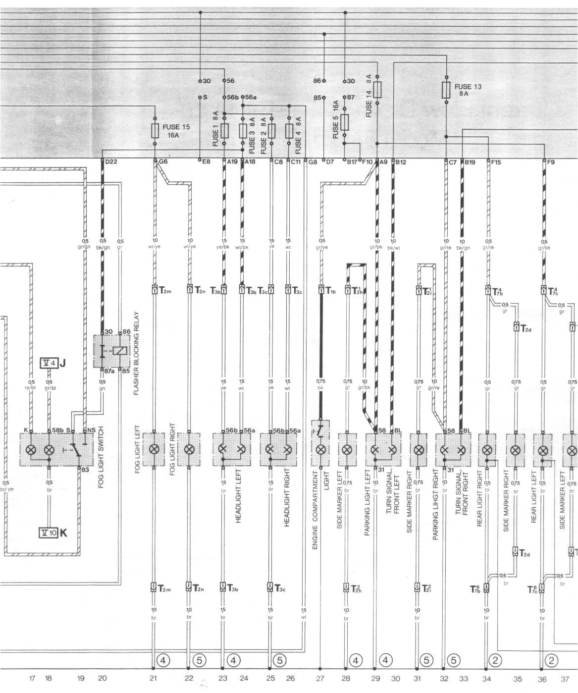 1986 Porsche 944 Wiring Diagram