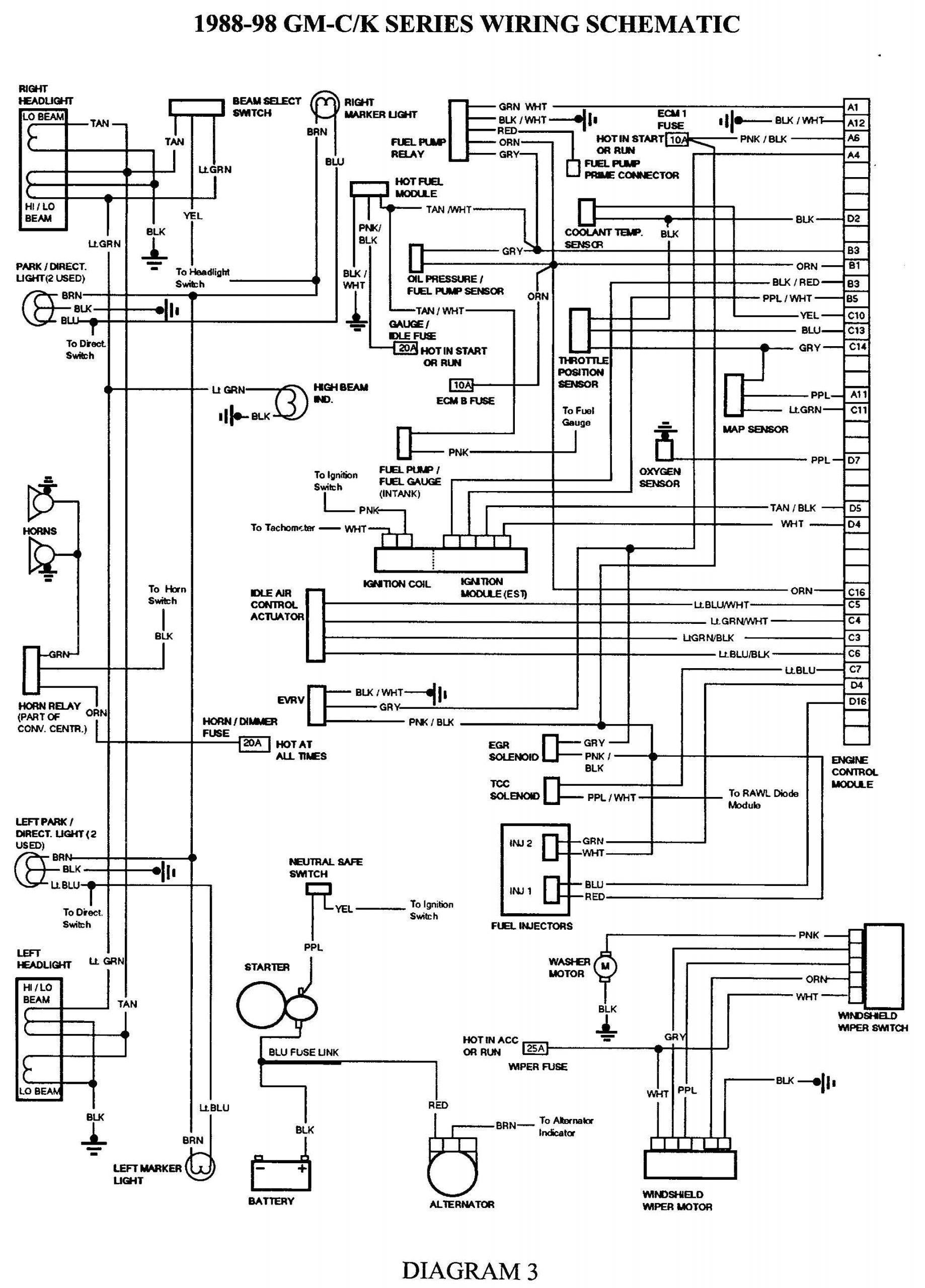 1988 Chevy Truck Fuel Pump Wiring Diagram 97 Chevy Z71 Wiring Diagram Wiring Diagram Data