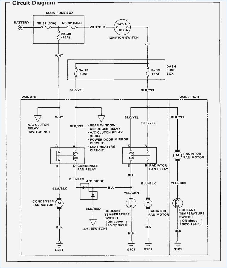 1993 Honda Civic Fuel Pump Wiring Diagram 94 Civic Wiring Diagram Pro Wiring Diagram