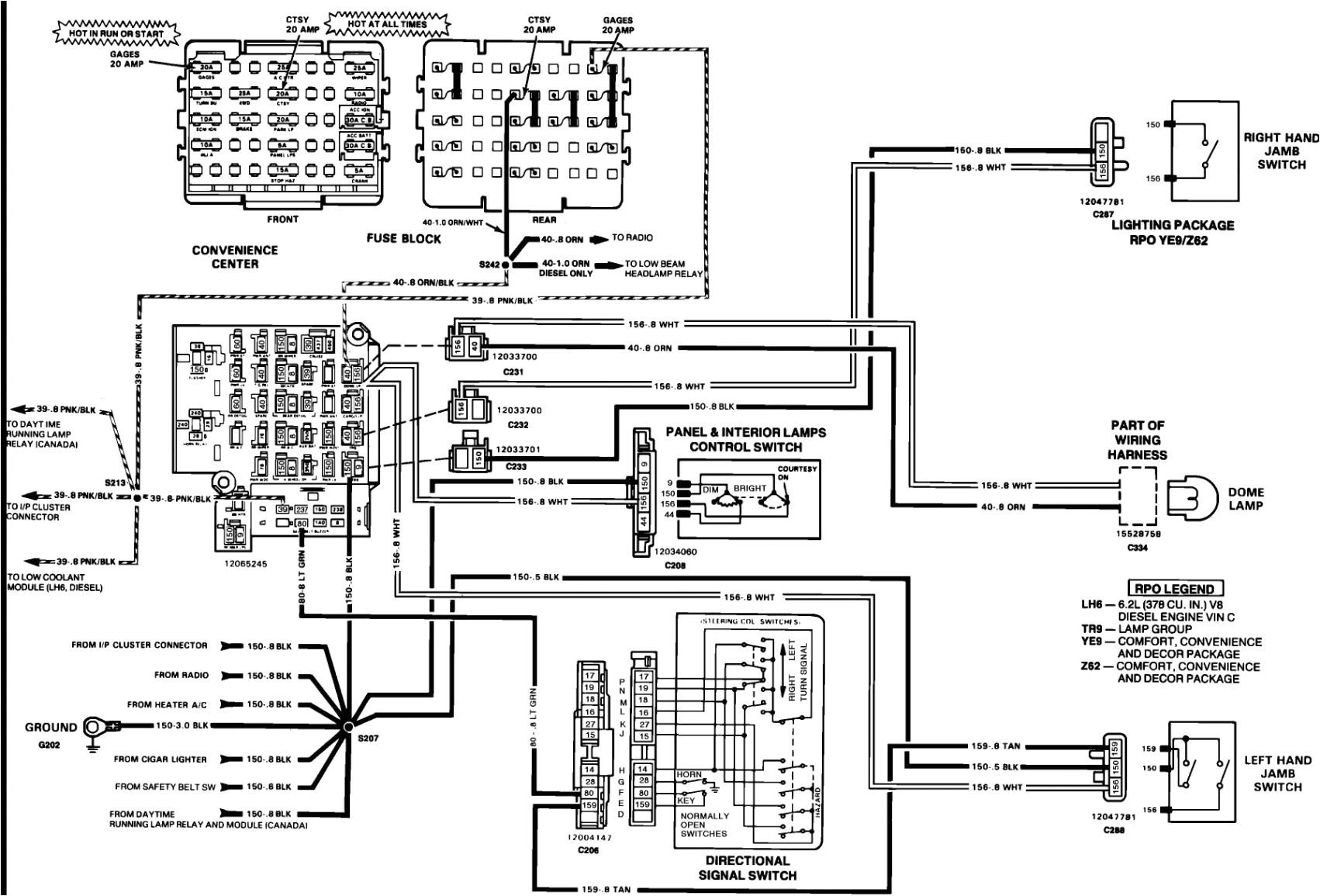 wrg 7447 1990 gmc brake light switch wiring jpg