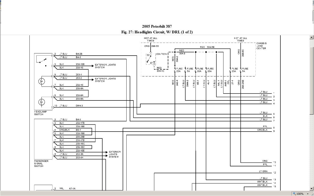 1994 Peterbilt 379 Wiring Diagram 94 Peterbilt Wiring Diagram Giant Fuse4 Klictravel Nl