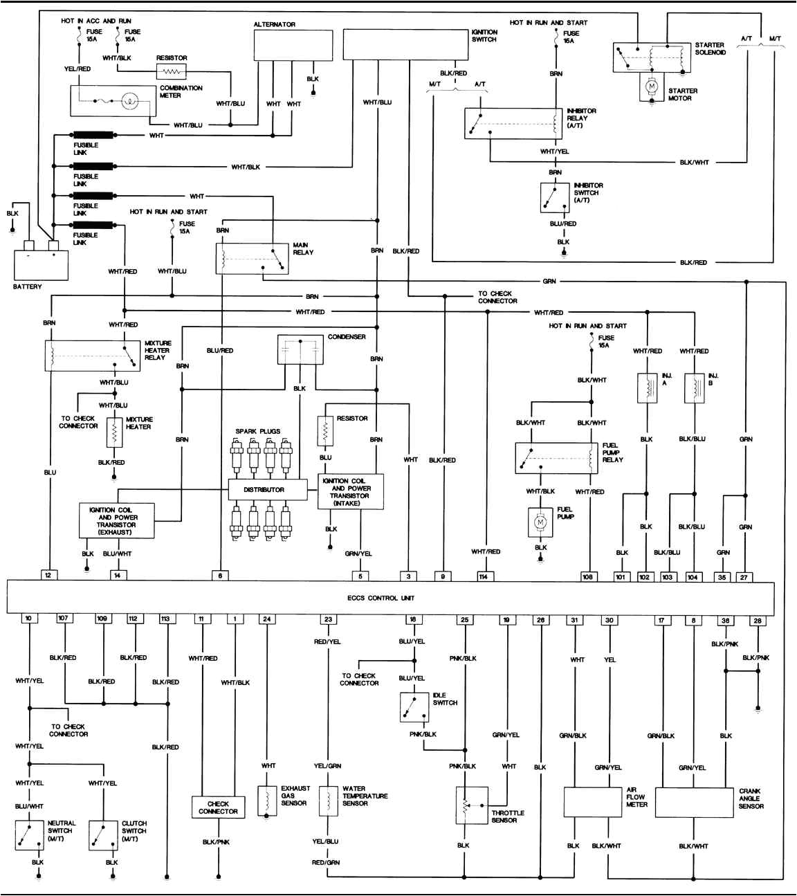 nissan car radio stereo audio wiring diagram autoradio connector in 1996 nissan maxima on 1996 nissan maxima wiring diagram jpg