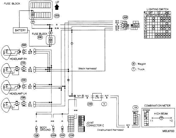 1995 Nissan Pickup Tail Light Wiring Diagram 1995 Nissan Pickup Tail Light Wiring Diagram Coo Ulakan