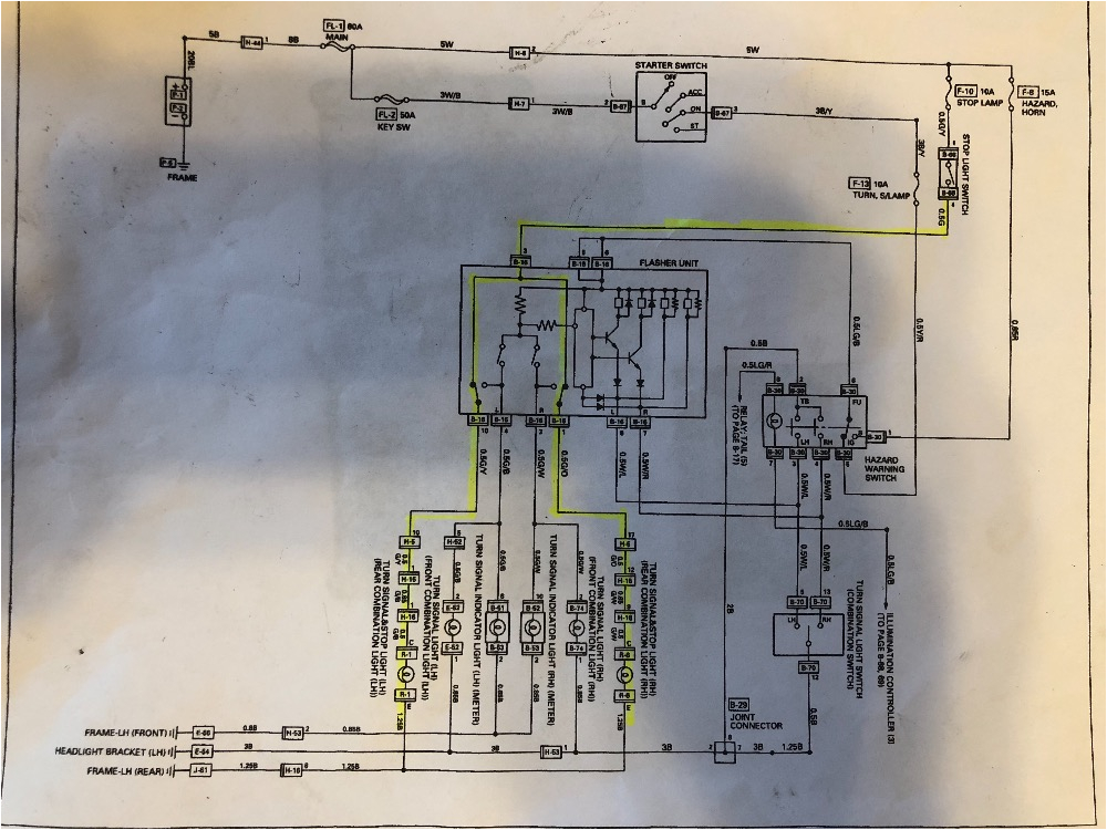 1997 isuzu Npr Wiring Diagram isuzu Tail Light Wiring Kobe Dego25 Vdstappen Loonen Nl
