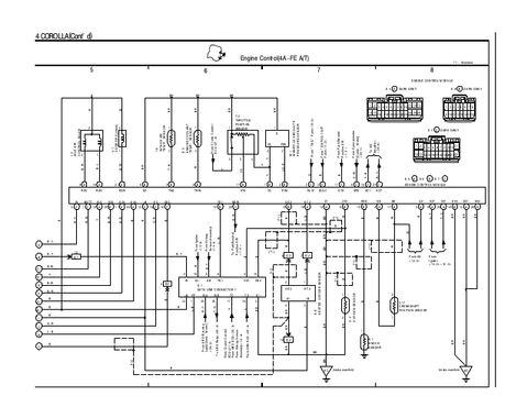 1997 toyota Corolla Wiring Diagram Pdf 1995 Corolla Wiring Diagram Blog Wiring Diagram