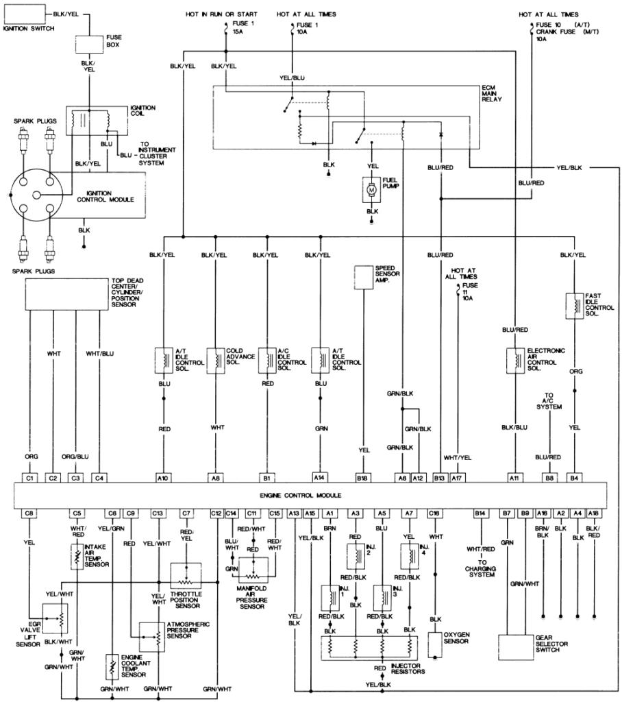 1999 Honda Accord Wiring Harness Diagram Honda Accord Wiring Pro Wiring Diagram