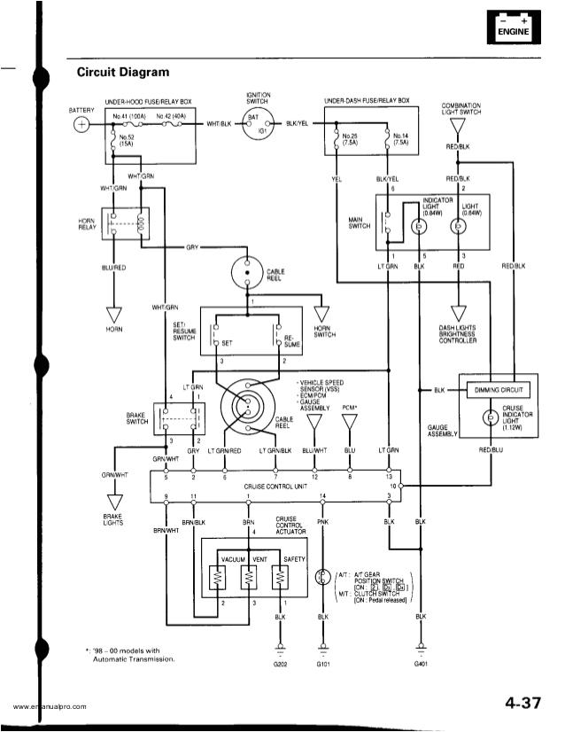 2000 Honda Crv Door Wiring Diagram 2000 Honda Crv Service Repair Manual