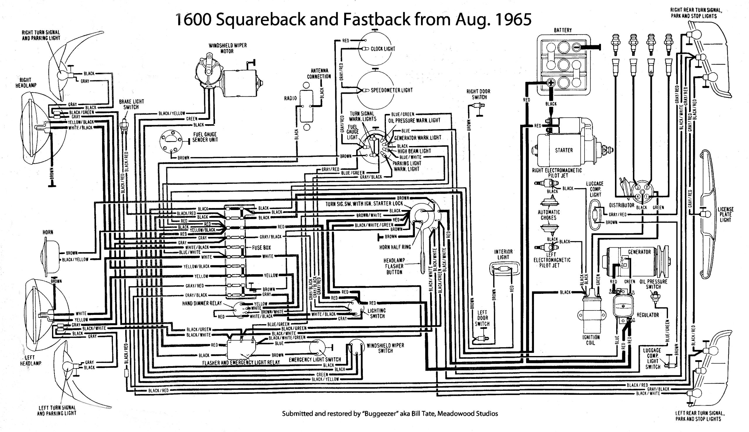 type3 squareback fastback 1600 motors jpg