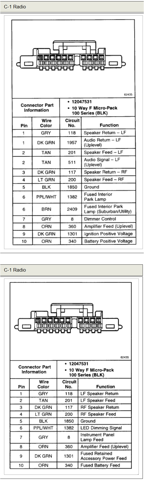 chevrolet 20tahoe 20ls 202000 20stereo 20wiring 20connector 202 png