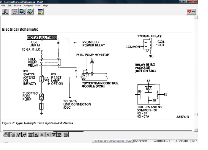 2001 F150 Fuel Pump Wiring Diagram 1999 F 150 Elec Fuel Pump Problem ford F150 forum