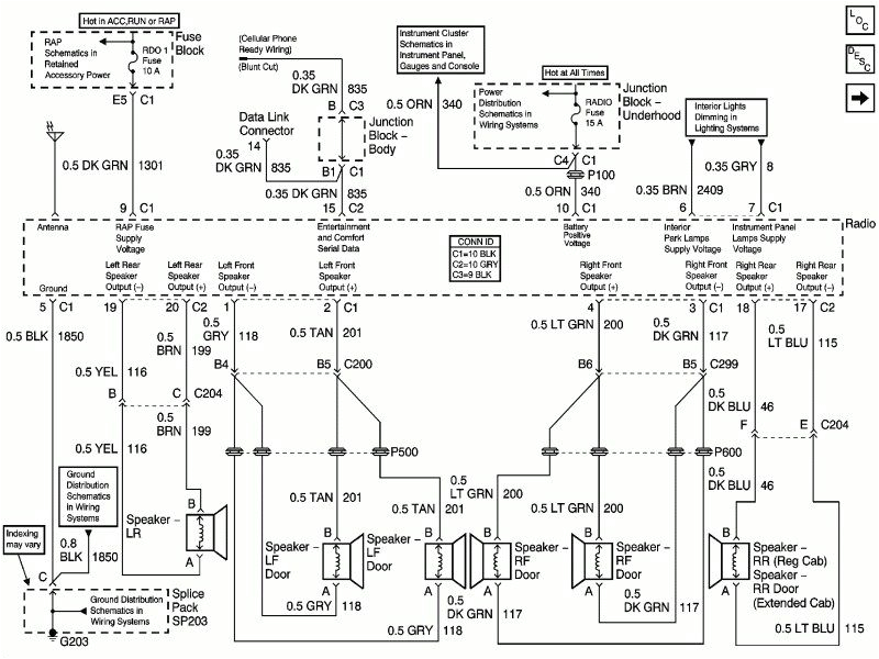 2003 Chevy 2500hd Radio Wiring Diagram Chevy 2500hd Wiring Diagram Giant Repeat18 Klictravel Nl