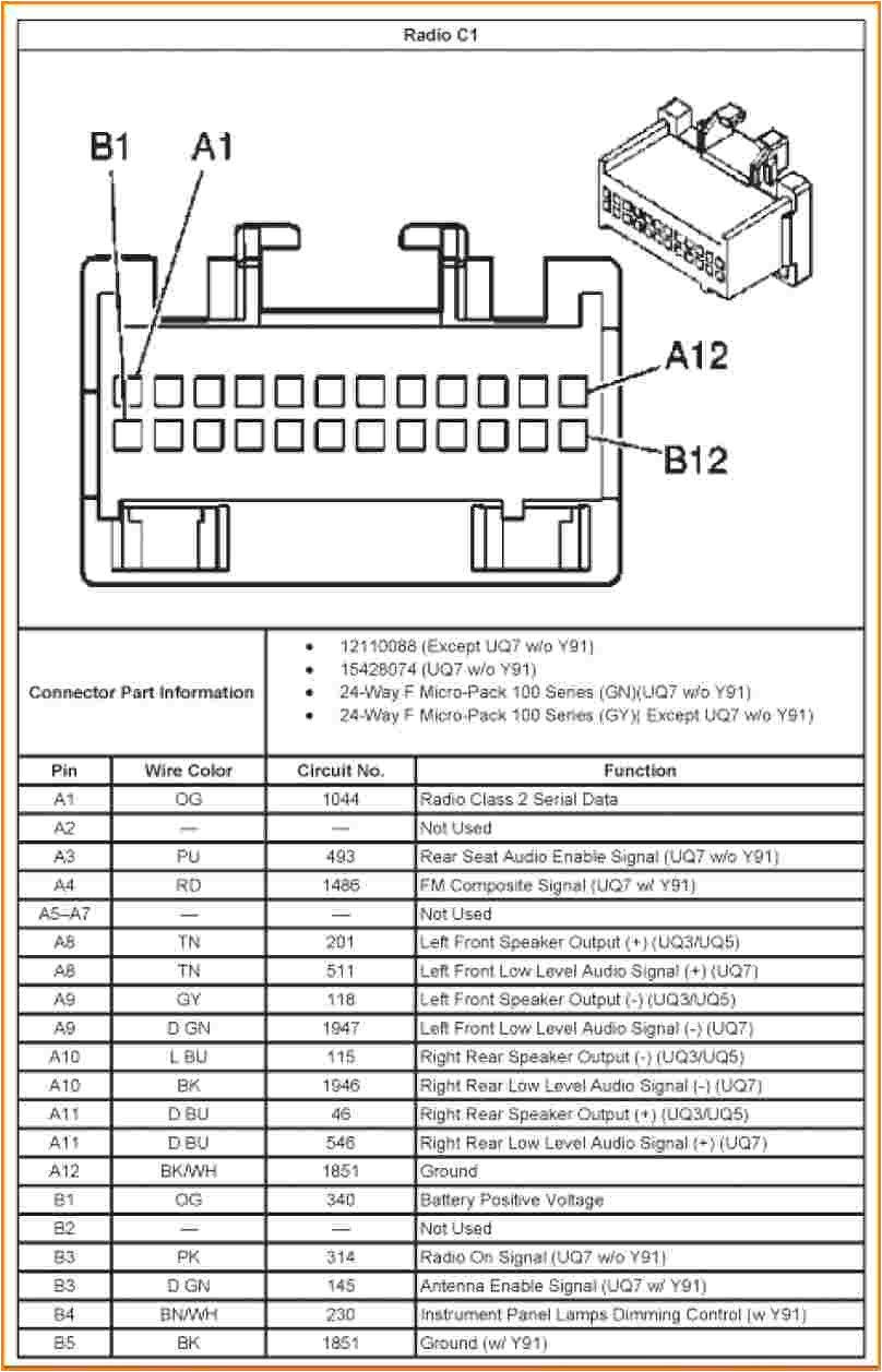 2003 Chevy Cavalier Radio Wiring Diagram Trailblazer Radio Wiring Blog Wiring Diagram