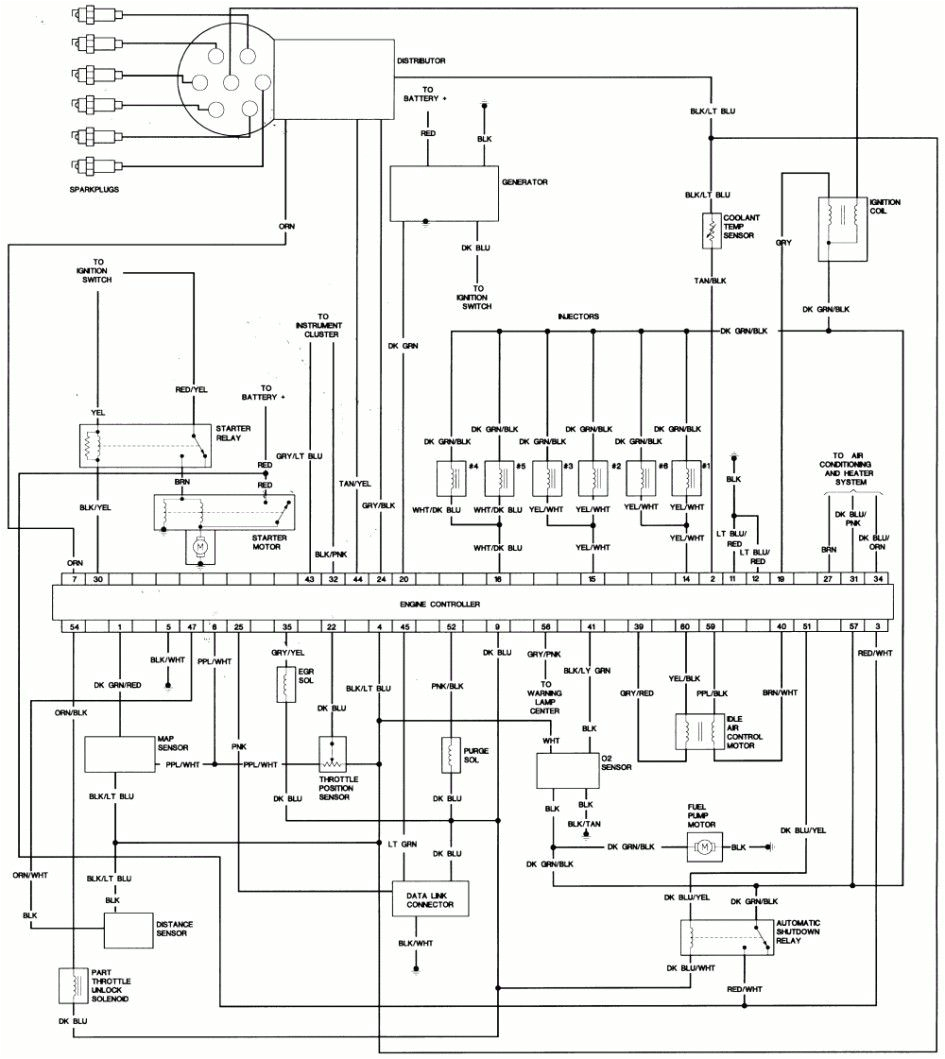 2003 Chrysler Town And Country Wiring Diagram