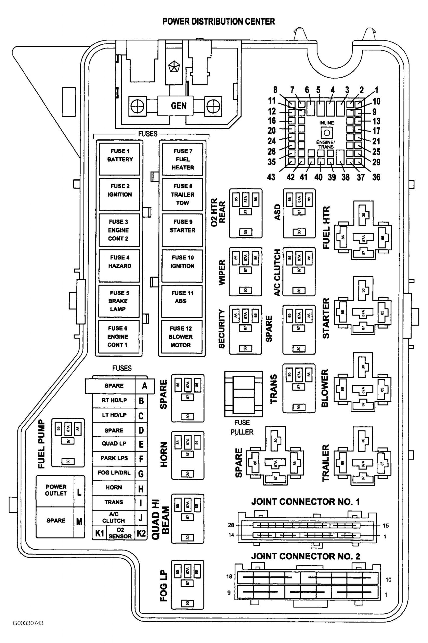 2003 Dodge Ram 3500 Tail Light Wiring Diagram Ram 3500 Fuse Box Wiring Diagram Data