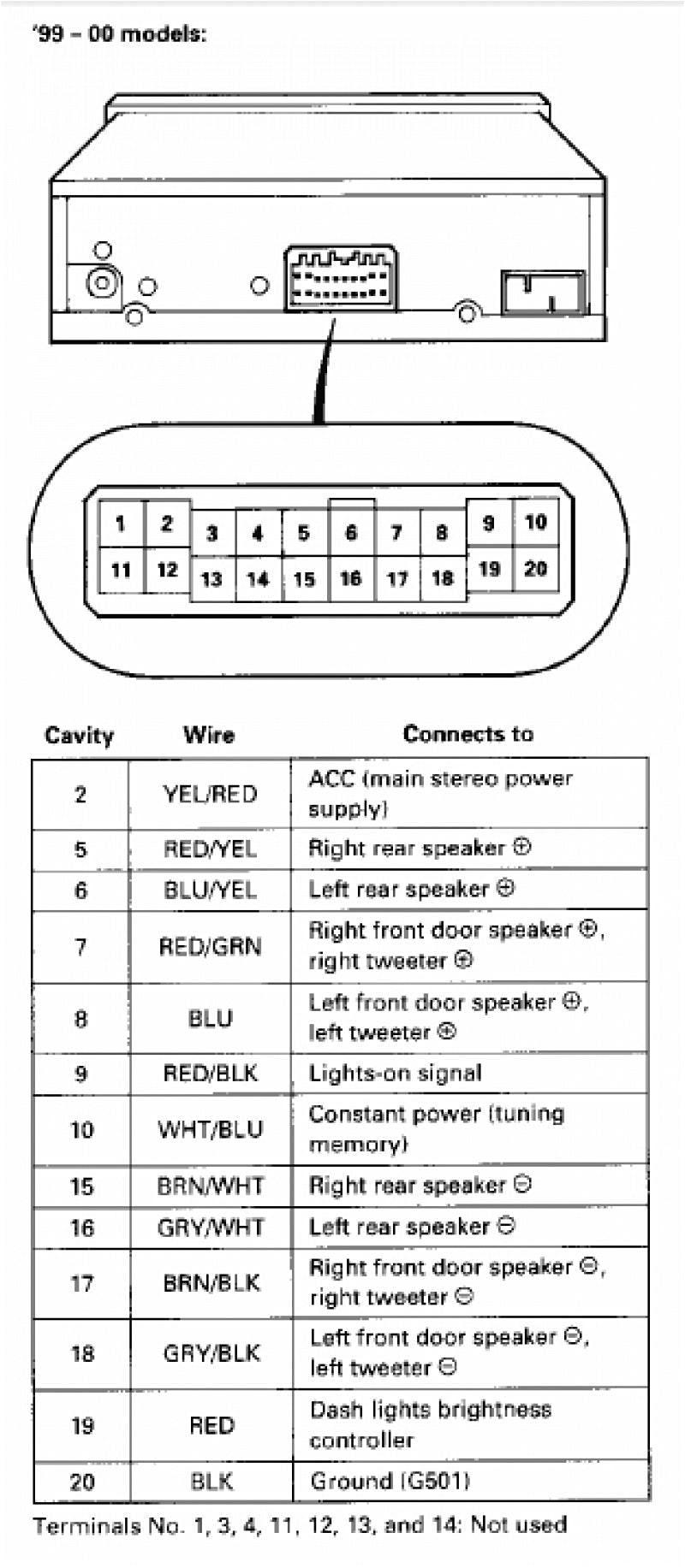 2003 Honda Civic Stereo Wiring Diagram Honda Radio Wiring Diagram Rain Manna19 Immofux Freiburg De