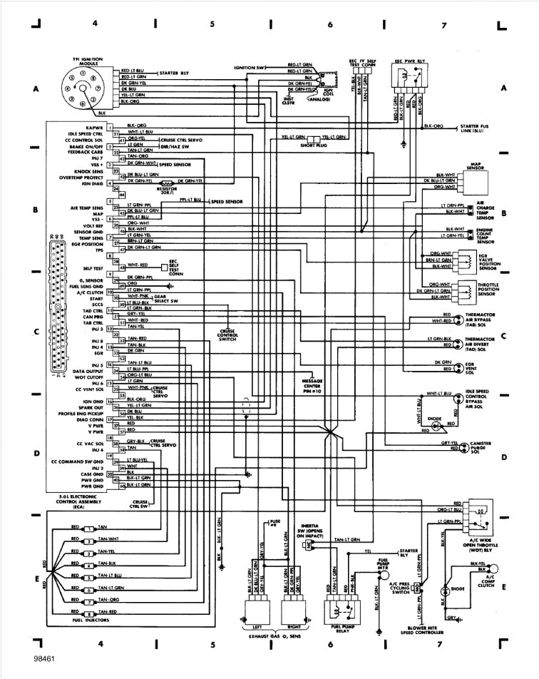 2003 Lincoln Navigator Wiring Diagram 10 91 town Car Wiring Diagram1991 Lincoln town Car Wiring
