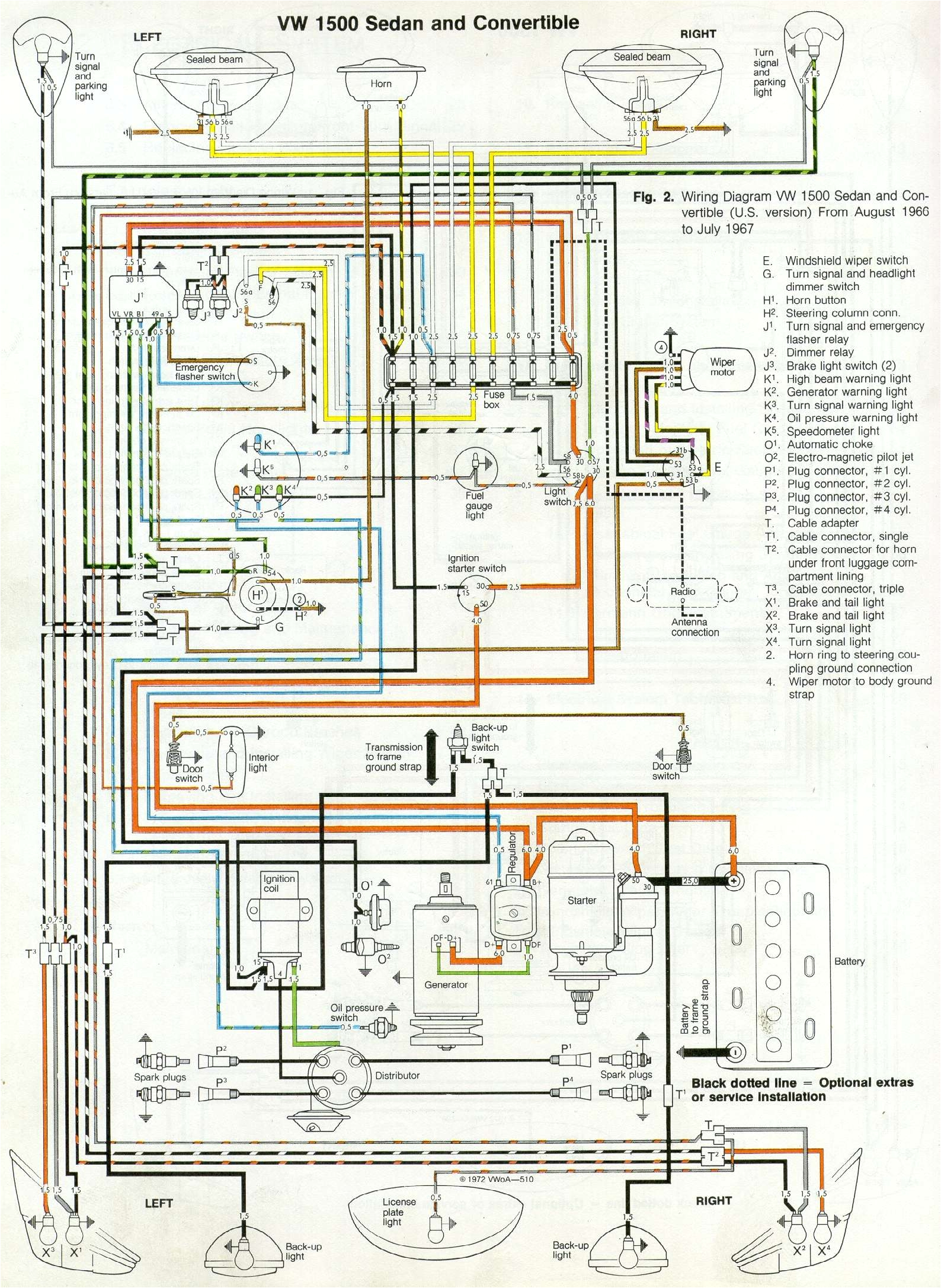 2003 Volkswagen Beetle Wiring Diagram Vw Bug Fuse Diagram Blog Wiring Diagram