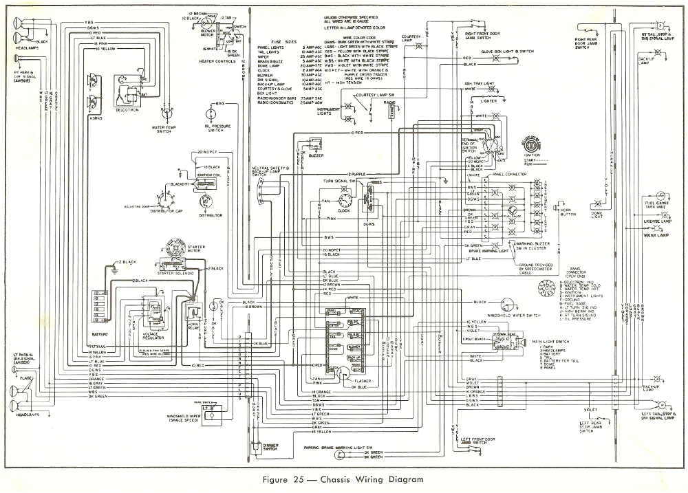 chassis wiring diagram of 1963 buick jpg