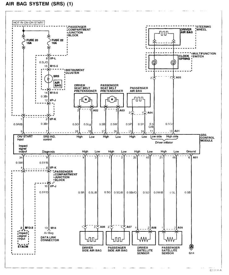 2004 hyundai santa fe car stereo radio wiring diagram experts of jpg