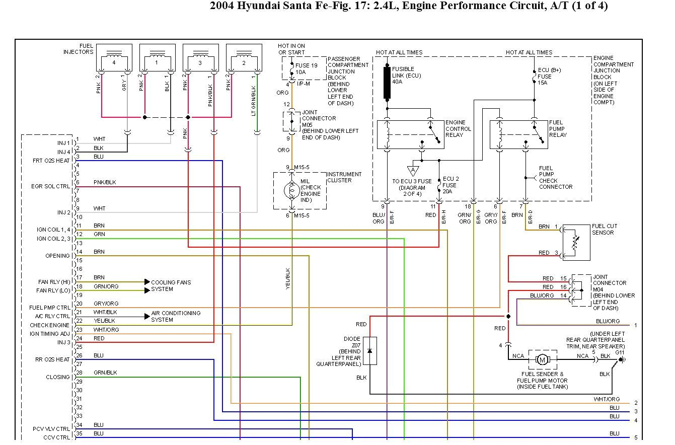 2004 Hyundai Tiburon Wiring Diagram 2007 Hyundai Santa Fe Wiring Diagram Hs Cr De