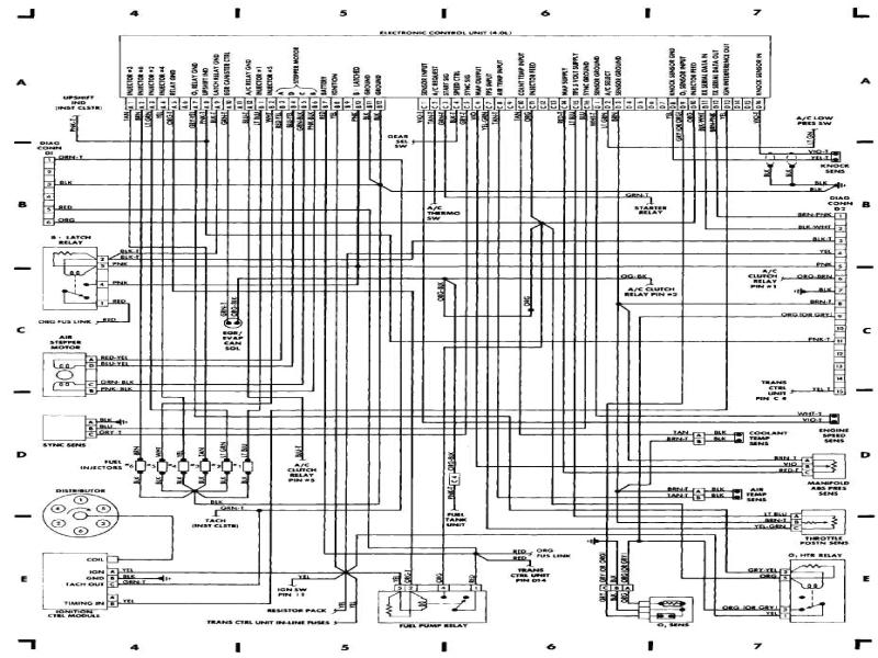 wiring diagrams 1984 1991 jeep cherokee xj jeep 3 jpg