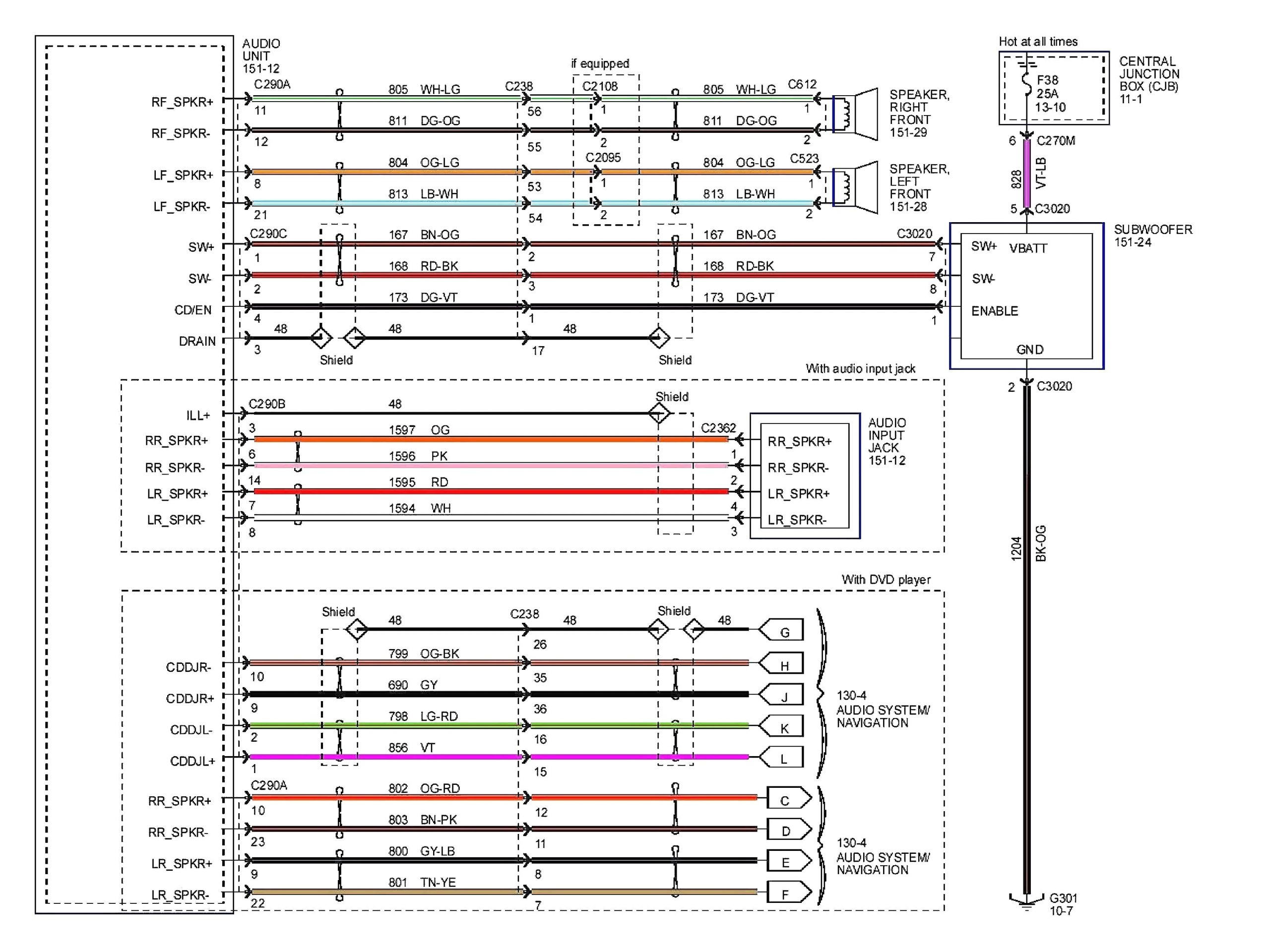 2007 toyota Camry Stereo Wiring Diagram 2008 Dodge Magnum Radio Wiring Diagram Giant Repeat24