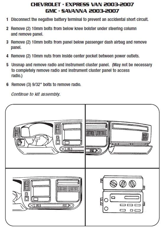 radio wiring diagram for gmc savana wiring diagram tutorial jpg