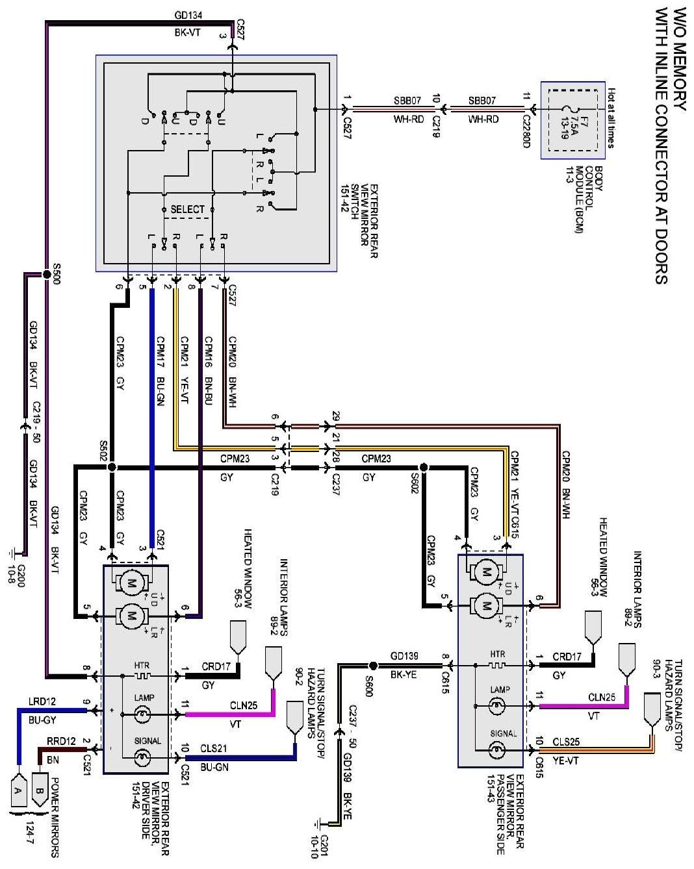 power mirror switch wiring diagram inspirational 2012 06 23 f150 1 2008 ford f250 mirror wiring diagram 4 of power mirror switch wiring diagram jpg