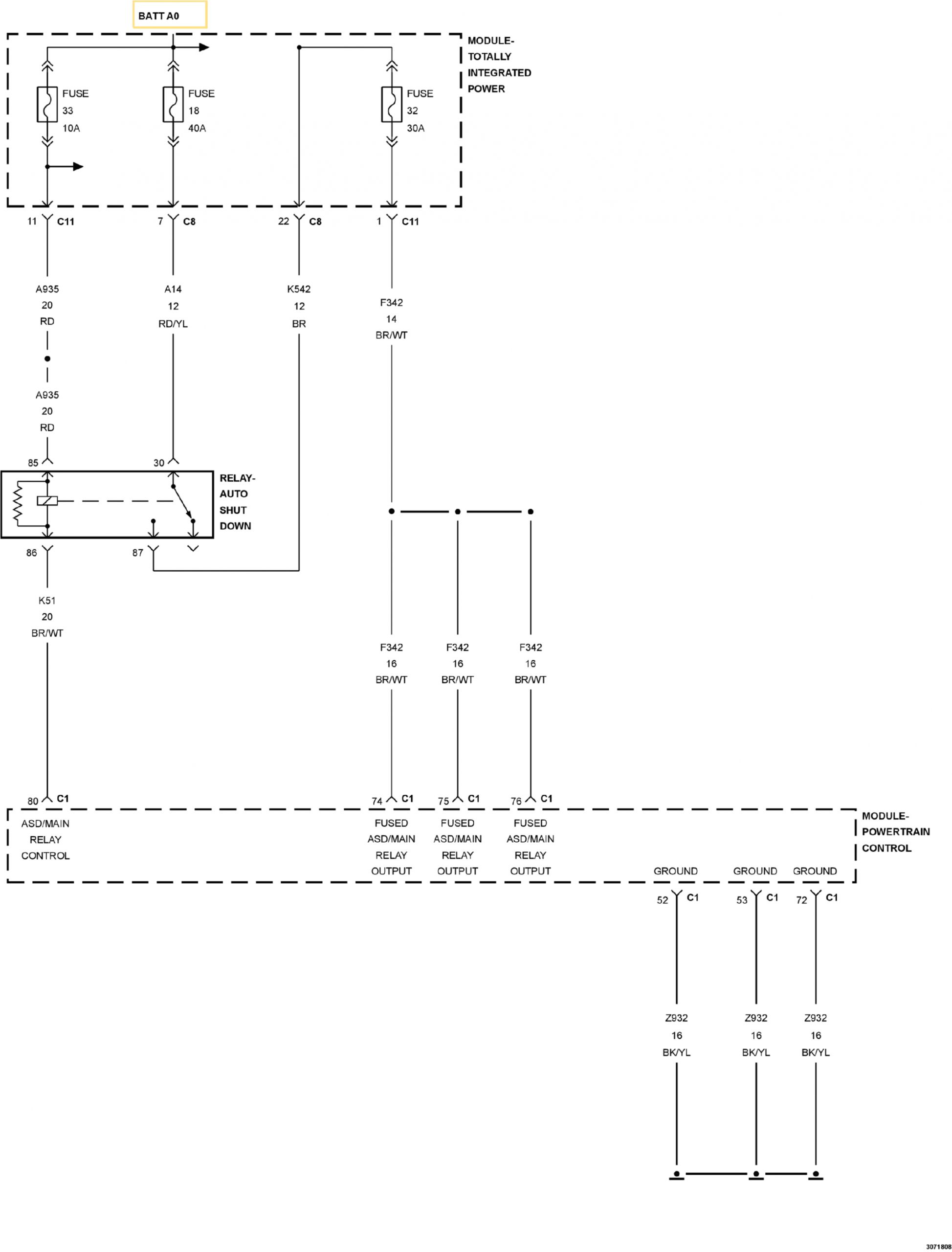 2011 Jeep Patriot Wiring Diagram 88c4e 2011 Jeep Compass Electrical Wiring Schematic Wiring
