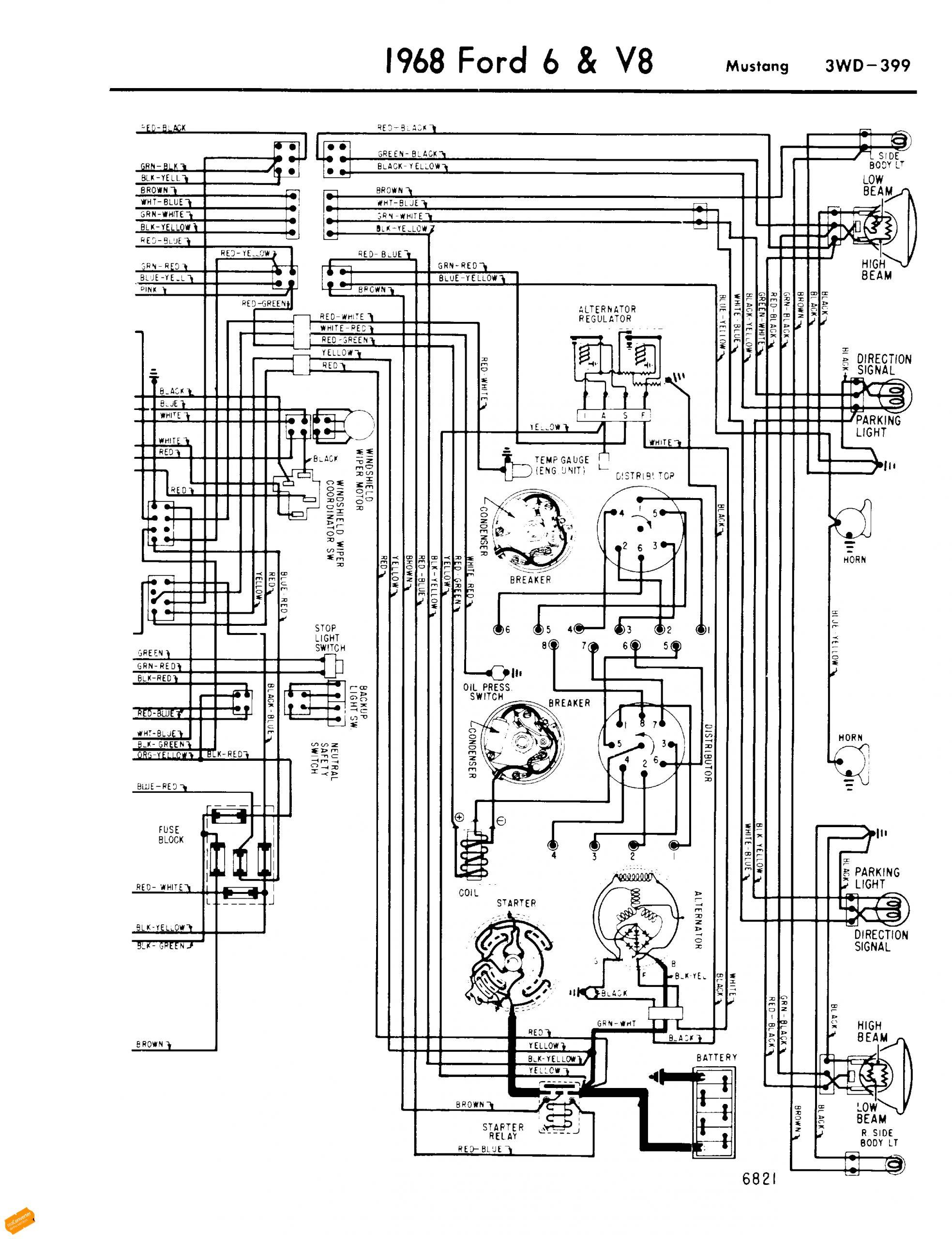 ford mustang wiring diagram gif
