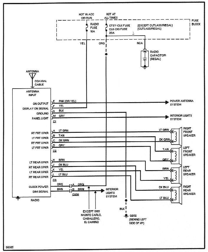 delphi dea500 radio wiring diagram 5 jpg