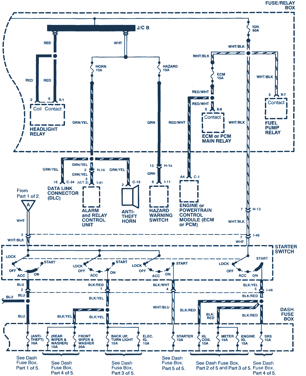 1998 isuzu rodeo 3 2 6 cyl wiring diagram gif