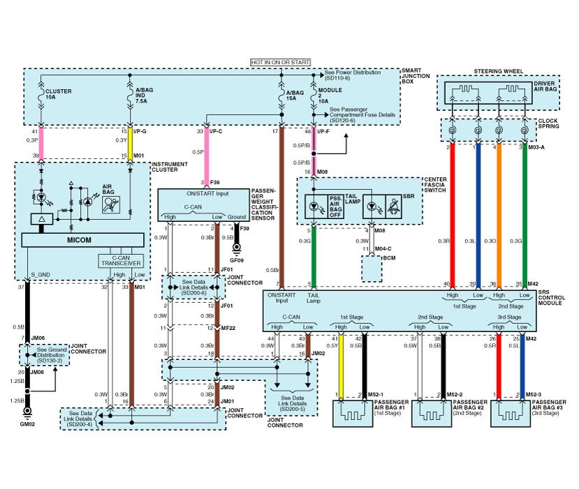 2013 Kia soul Wiring Diagram Kia soul Schematic Diagrams Restraint