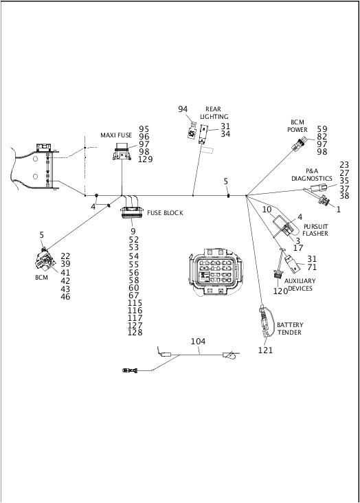 2014 Street Glide Throttle by Wire Diagram Clutch Twin Cam 103