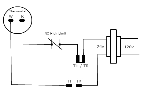 24v Gas Valve Wiring Diagram Th Tr and Th Tr Gas Valve Terminals Hvac School