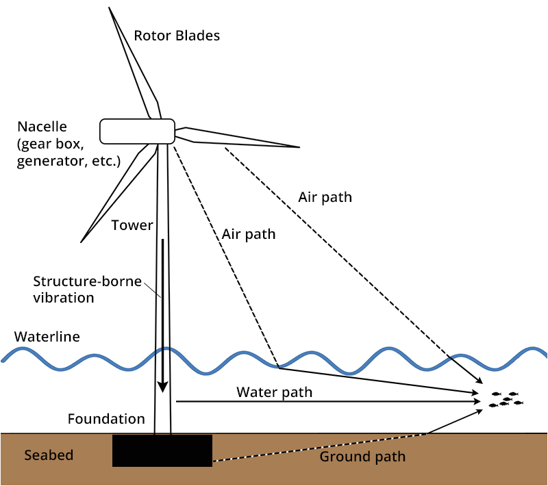 3 Phase Wind Turbine Wiring Diagram Wind Turbine Discovery Of sound In the Sea
