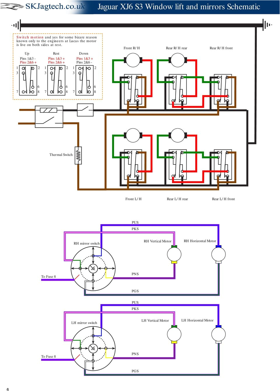 3 Wire Brake Light Diagram Jaguar Xj6 Series 3 Schematic Drawings Pdf Free Download