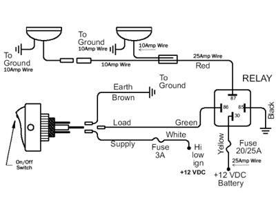 5 Pin Fog Light Switch Wiring Diagram Fog Light Wiring Tacoma World