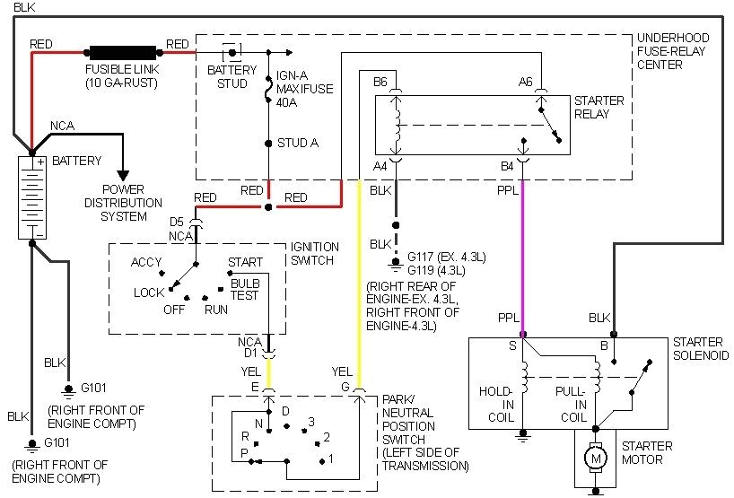 5 Terminal Relay Wiring Diagram Neutral Safety Switch Wiring Diagram 5 Pin Relay Wiring
