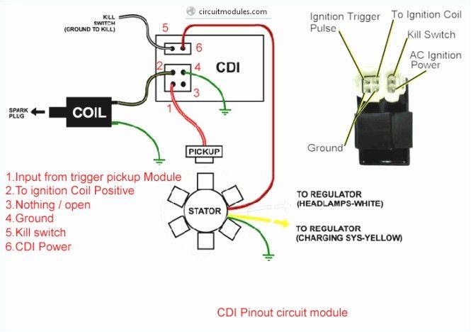 6 Pin Racing Cdi Wiring Diagram