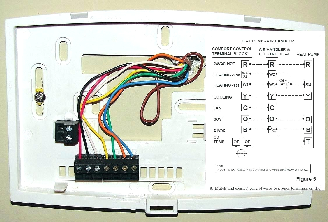 6 Wire Honeywell thermostat Wiring Diagram 51e Heat Pump Wiring Diagram 7 Wires Wiring Library