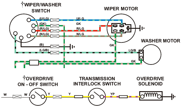 mgb wiper washer od wiring diagram png