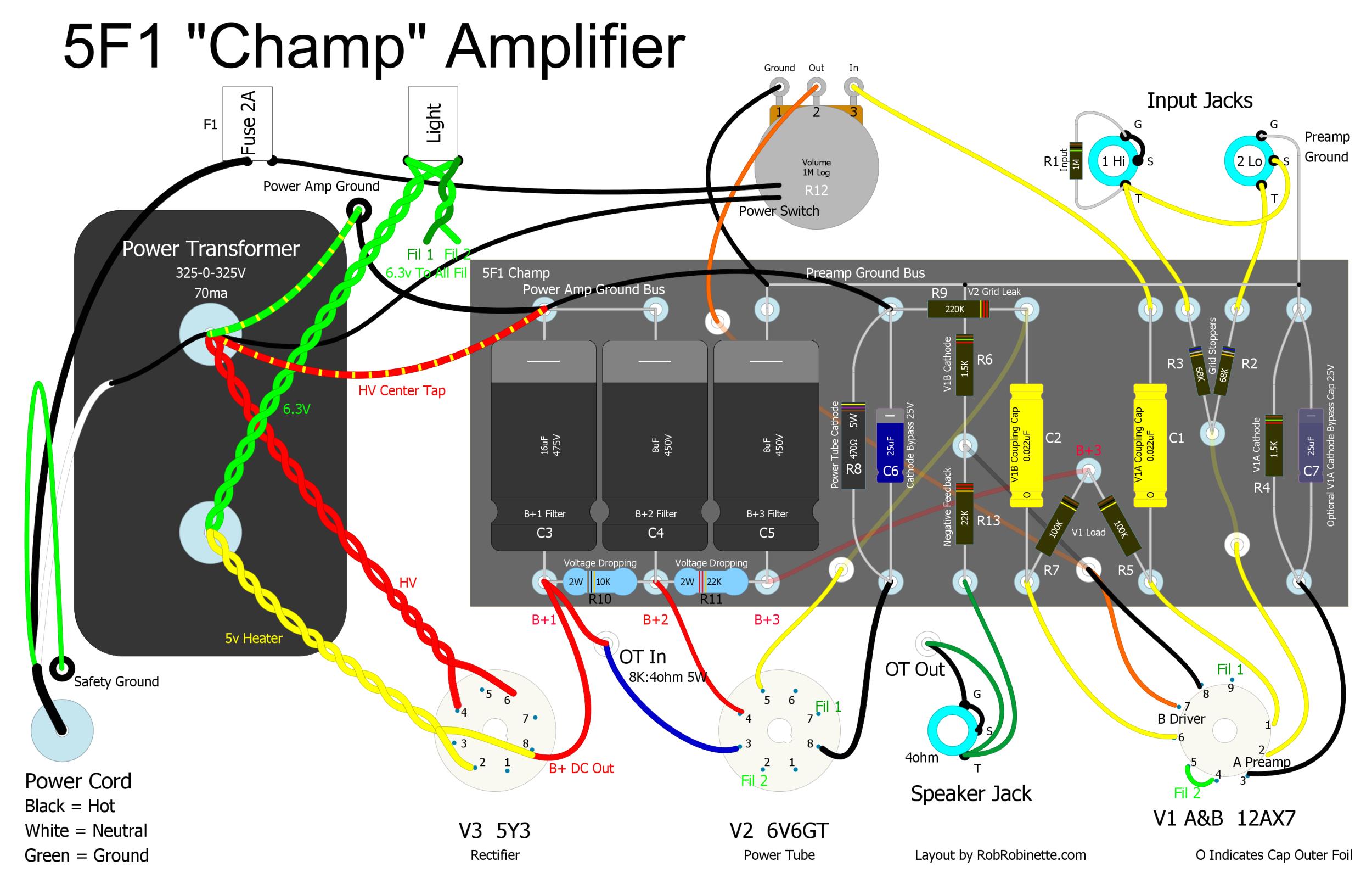 8 Inch Bazooka Tube Wiring Diagram How Amps Work
