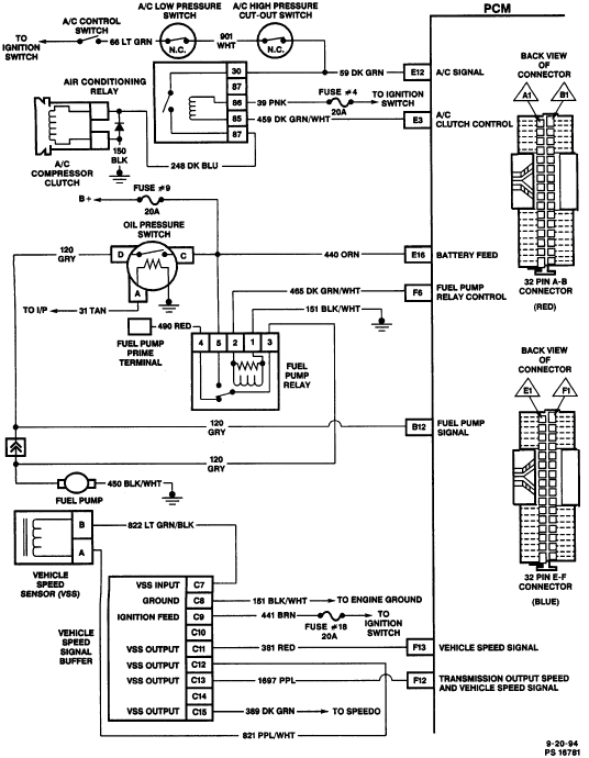 94 S10 Fuel Pump Wiring Diagram 95 S10 Wiring Diagram Pro Wiring Diagram