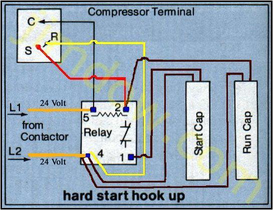 Ac Hard Start Kit Wiring Diagram Hb 5893 Csr Wiring Ac Wiring Diagram Of Window