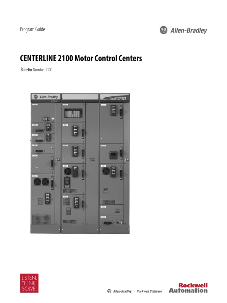Allen Bradley Centerline 2100 Wiring Diagram Mcc Ab Guia Pdf Fuse Electrical Automation