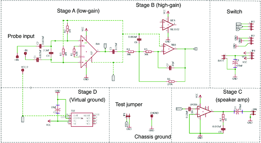 electric fish finder circuit schematic in autodesk eagle format batt battery c png
