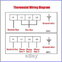 11kw 220v electric swimming pool water heater thermostat hot tub secure stable 03 bbyl jpg