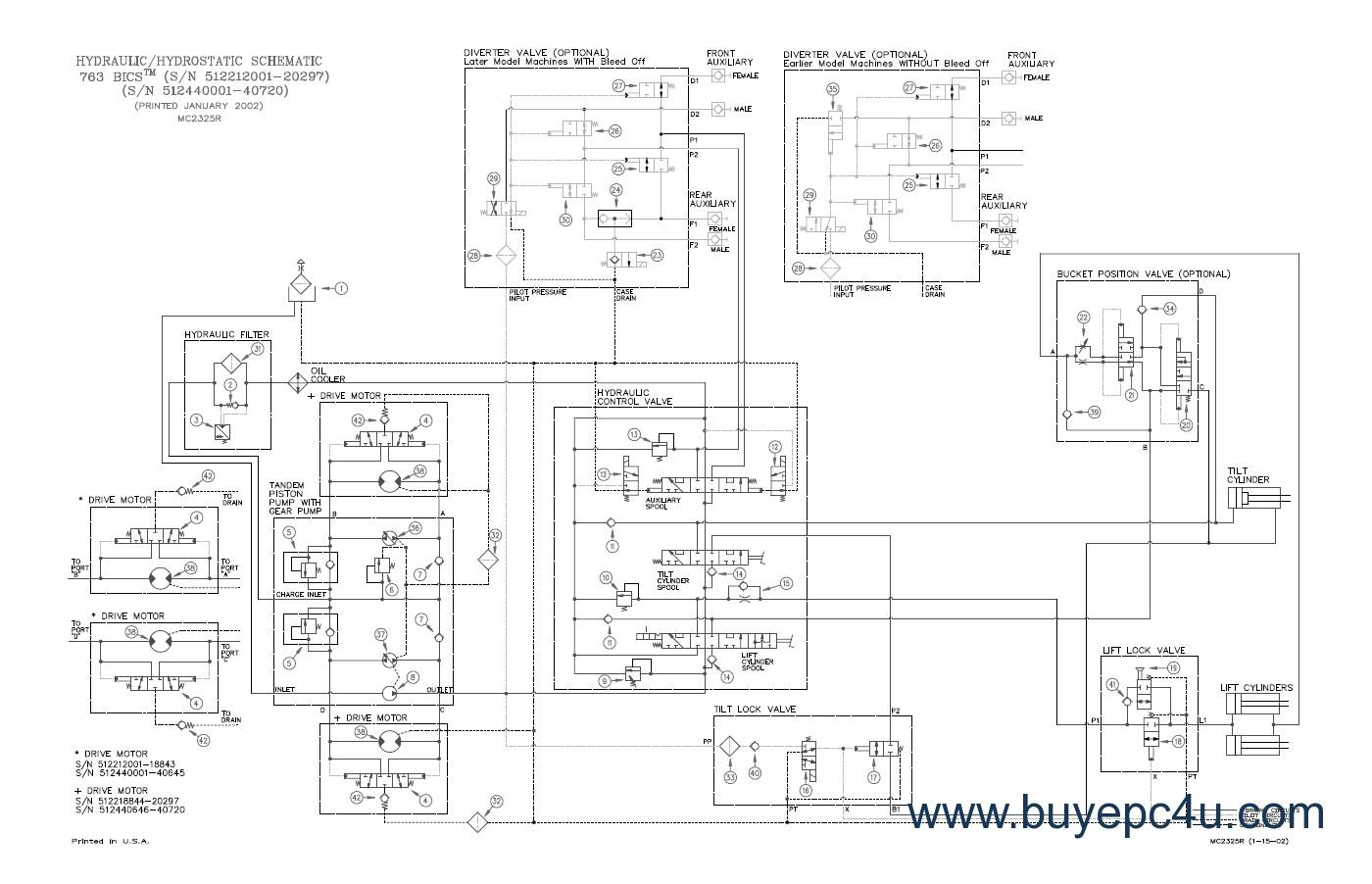 bobcat 853 wiring diagram pdf wiring diagram database png