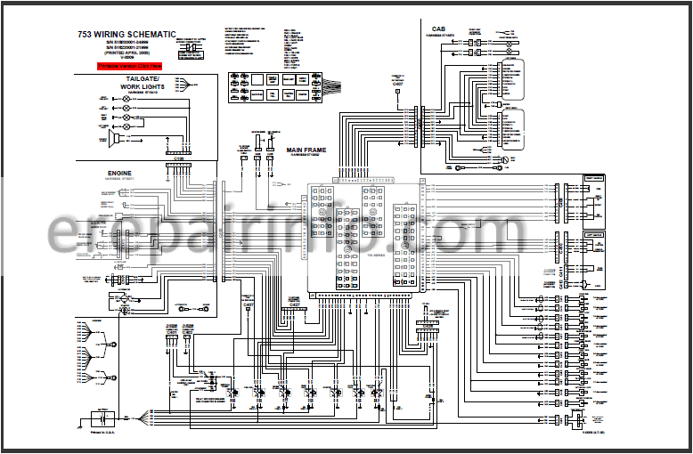 Bobcat 763 Fuel Shut Off solenoid Wiring Diagram S300 Bobcat Wire Controls Diagram Fokus Fuse12 Klictravel Nl